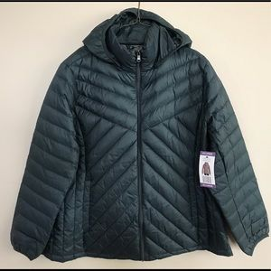 NEW London Fog Light Weight Packable Down Jacket